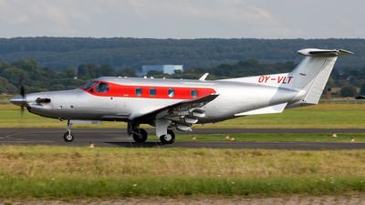 A picture of OYVLT - Pilatus PC12/47E - Air Alsie - © Sebastian Sowa