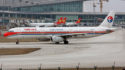 B-6643 - Airbus A321-231 - China Eastern Airlines