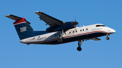 A picture of N936HA - De Havilland Canada Dash 8100 - [145] - © Shelley Neill