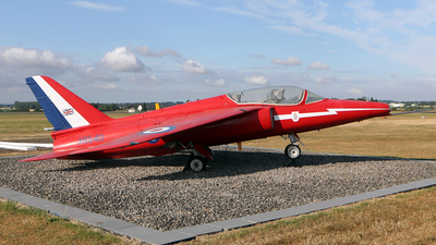 XR540 - Folland Gnat T.1 - United Kingdom - Royal Air Force (RAF)
