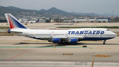 EI-XLG - Boeing 747-446 - Transaero Airlines