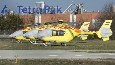 HA-HBK - Eurocopter EC 135P2 - OMSZ Légimentõ (Air Ambulance Hungary)