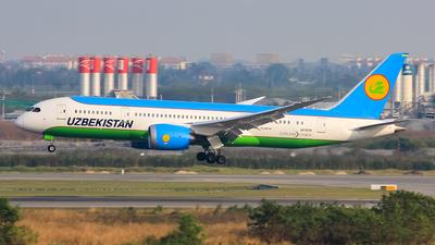 UK78701 - Boeing 787-8 Dreamliner - Uzbekistan Airways