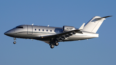 N1218F - Bombardier CL-600-2B16 Challenger 604 - Private