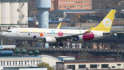 A picture of B6989 - Boeing 73786N - 9 Air - © Jinyuan LIU