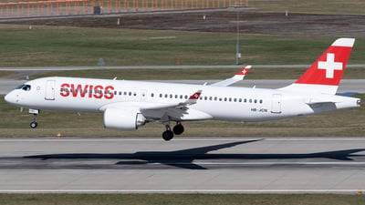 HB-JCM - Bombardier CSeries CS300 - Swiss