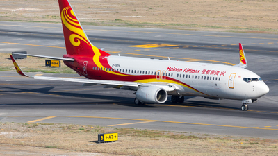 A picture of B1929 - Boeing 73784P - Hainan Airlines - © UNNAMED