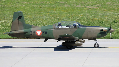 3H-FA - Pilatus PC-7 - Austria - Air Force