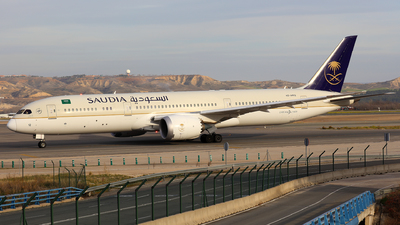A picture of HZAR12 - Boeing 7879 Dreamliner - Saudia - © J.M.Carballo