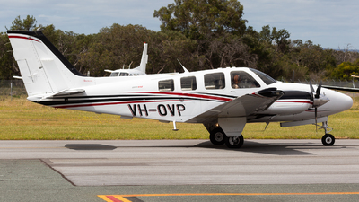 VH-OVP - Beechcraft 58 Baron - Awesome Aviation