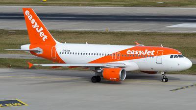 G-EZMK - Airbus A319-111 - easyJet
