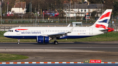 A picture of GTTNJ - Airbus A320251N - British Airways - © Ervin Eslami | UK Jets