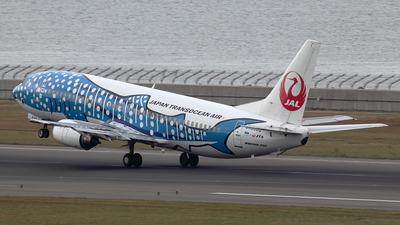 JA8939 - Boeing 737-4Q3 - Japan TransOcean Air (JTA)