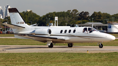 LV-CGO - Cessna 501 Citation SP - Private