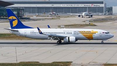 A picture of JU1088 - Boeing 7378AL - MIAT Mongolian Airlines - © kuailedeann