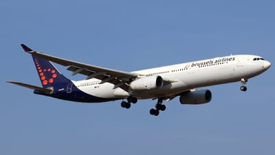 A picture of OOSFD - Airbus A330342 - Brussels Airlines - © Sander in West-Africa