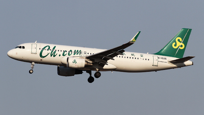 A picture of B1026 - Airbus A320214 - Spring Airlines - © ceci wong