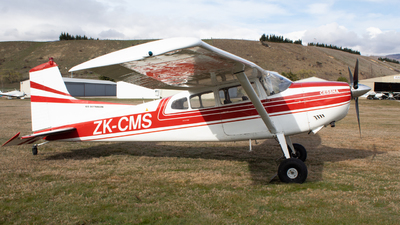 ZK-CMS - Cessna 185A Skywagon - Private