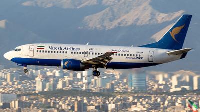 EP-VAA - Boeing 737-3S3 - Varesh Airlines