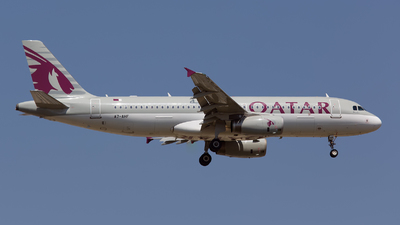 A7-AHF - Airbus A320-232 - Qatar Airways