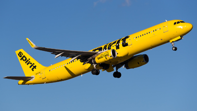 N663NK - Airbus A321-231 - Spirit Airlines