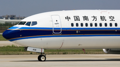 B-1406 - Boeing 737-81B - China Southern Airlines