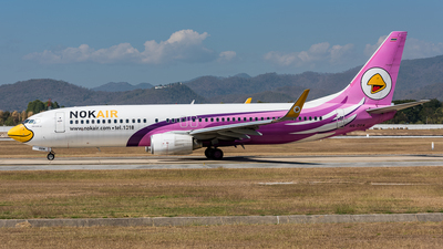 HS-DBM - Boeing 737-8AS - Nok Air