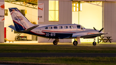 ZK-NFD - Cessna 441 Conquest II - Garden City Helicopters