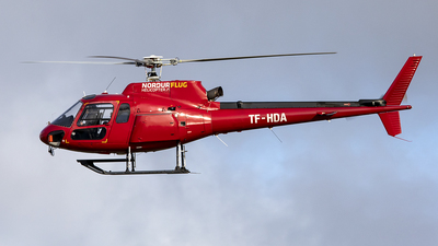TF-HDA - Eurocopter AS 350B2 Ecureuil - Nordurflug Helicopter