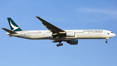 B-HNK - Boeing 777-367 - Cathay Pacific Airways