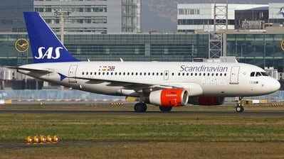 OY-KBT - Airbus A319-132 - Scandinavian Airlines (SAS)