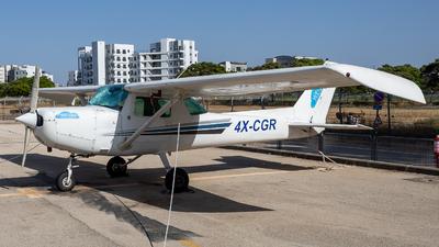 4X-CGR - Cessna 152 - Private