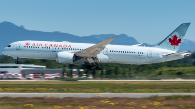 A picture of CFGDZ - Boeing 7879 Dreamliner - Air Canada - © Michal Mendyk