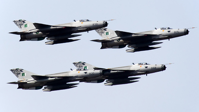 01-820 - Chengdu F-7PG - Pakistan - Air Force