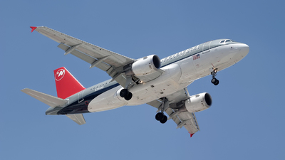 N356NB - Airbus A319-114 - Northwest Airlines