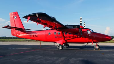 VP-FAZ - De Havilland Canada DHC-6-300 Twin Otter - British Antarctic Survey