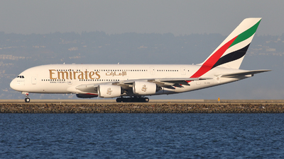 A picture of A6EOG - Airbus A380861 - Emirates - © Tomasz Habaj