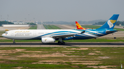 A picture of A4ODI - Airbus A330343 - Oman Air - © ZGGG-Highwing