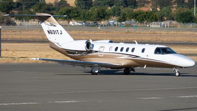 N631TJ - Cessna 525 Citationjet CJ4 - Private