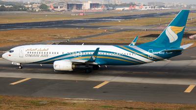 A picture of A4OBAC - Boeing 73781M - Oman Air - © Aneesh Bapaye