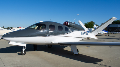 N44DE - Cirrus Vision SF50 G2 - Private