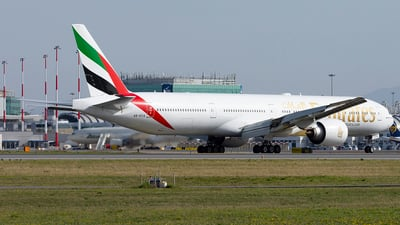 A picture of A6ECQ - Boeing 77731H(ER) - Emirates - © Daniel Veronesi - RomeAviationSpotters