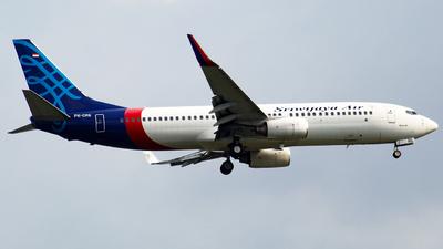 A picture of PKCRE - Boeing 73786N - Sriwijaya Air - © Herison Riwu Kore