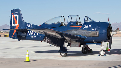N351NA - North American T-28B Trojan - Private