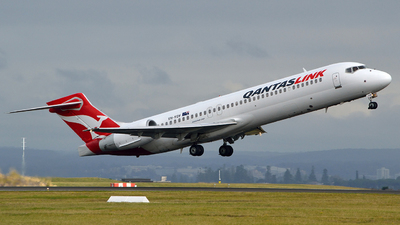 VH-YQV - Boeing 717-2BL - QantasLink (National Jet Systems)