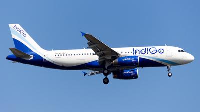 VT-INZ - Airbus A320-232 - IndiGo Airlines