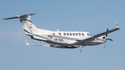 A picture of HP1588 - Beech 350 Super King Air - [FL429] - © Francois J. Berger