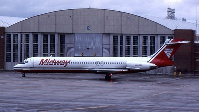 N806ML - McDonnell Douglas MD-87 - Midway Airlines