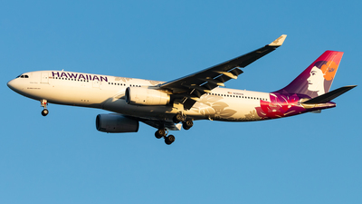 A picture of N361HA - Airbus A330243 - Hawaiian Airlines - © Brandon Giacomin