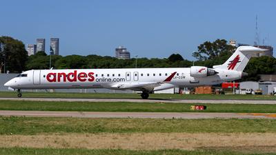 LV-CGW - Bombardier CRJ-900 - Andes Líneas Aéreas